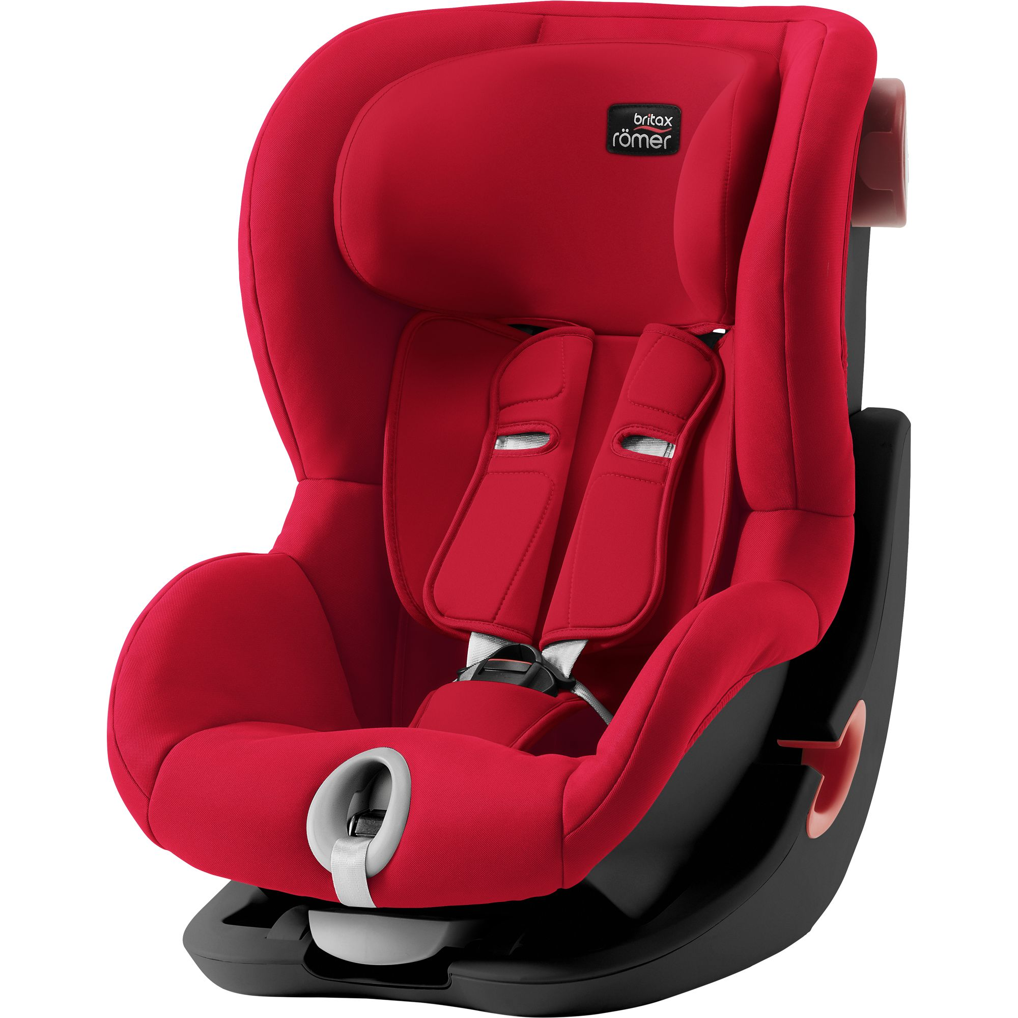 BRITAX  Autosedačka King II Black, Fire Red