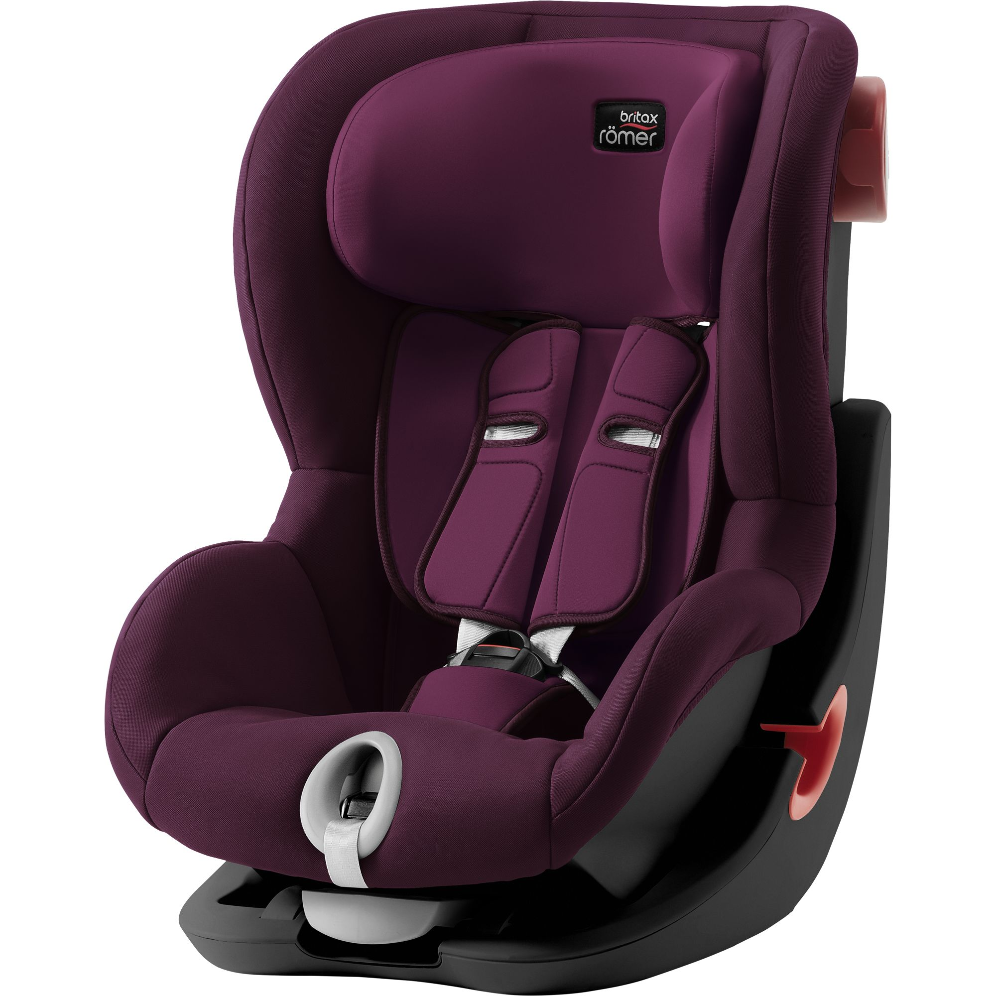 BRITAX  Autosedačka King II Black, Burgundy Red