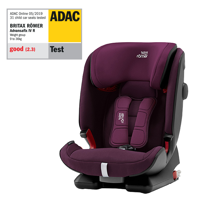 ROMER Advansafix IV R Burgundy Red 2020