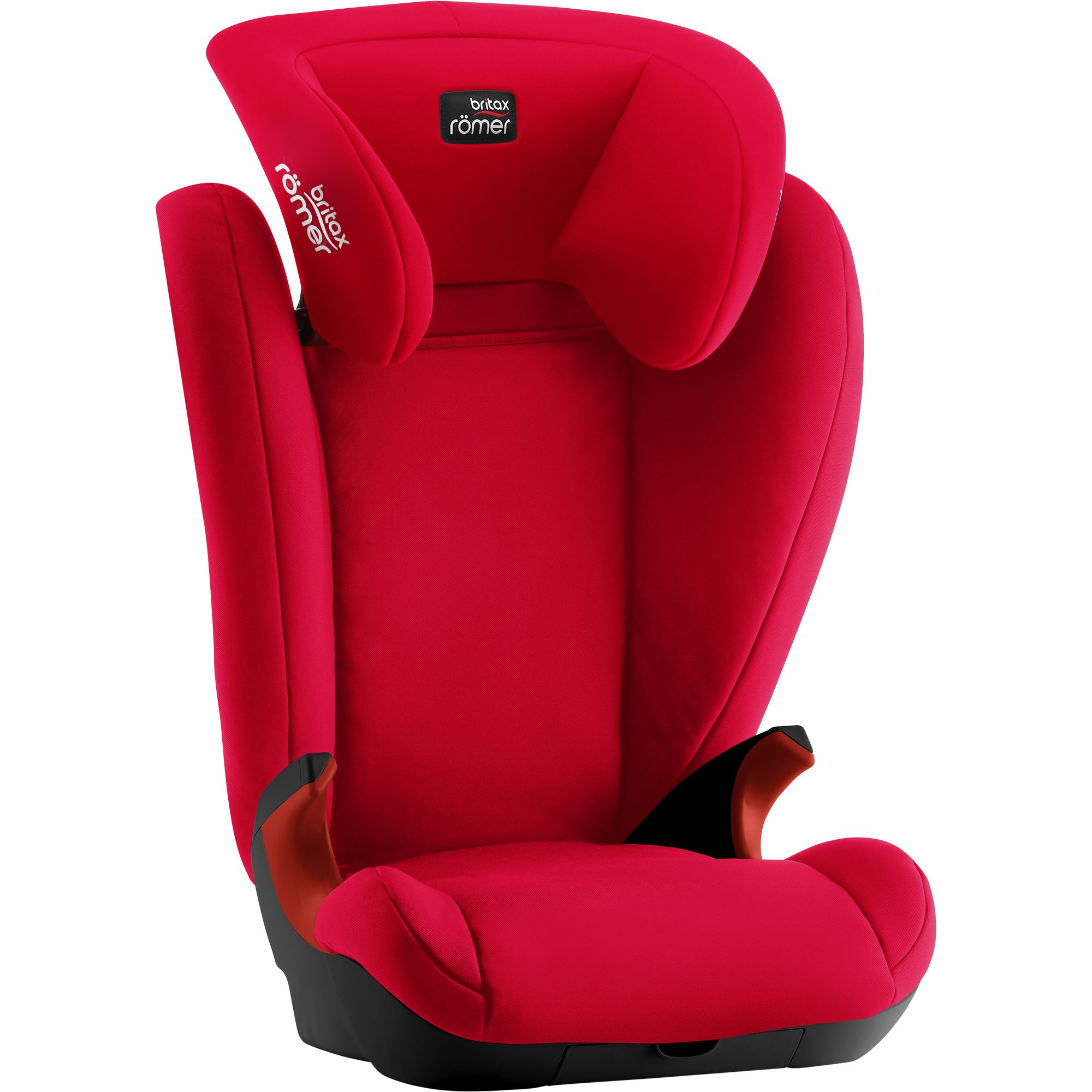 Autosedačka Britax Römer Kid II Black - Fire Red