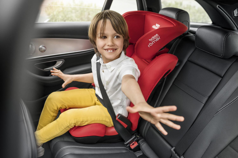 Autosedačka Kid II Black, Fire Red