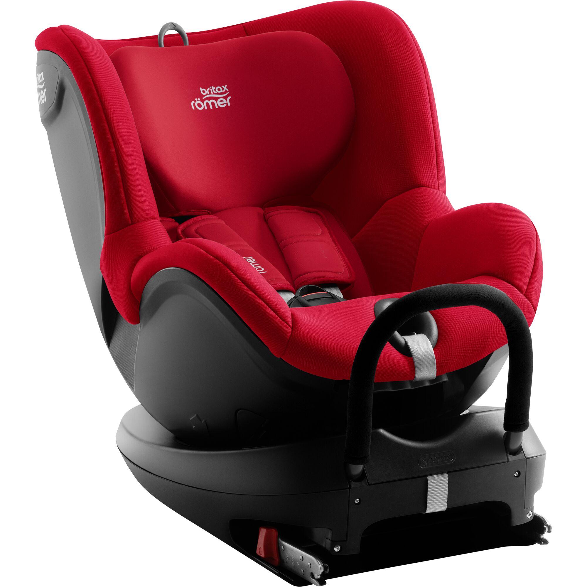 Autosedačka Dualfix 2 R, Fire Red