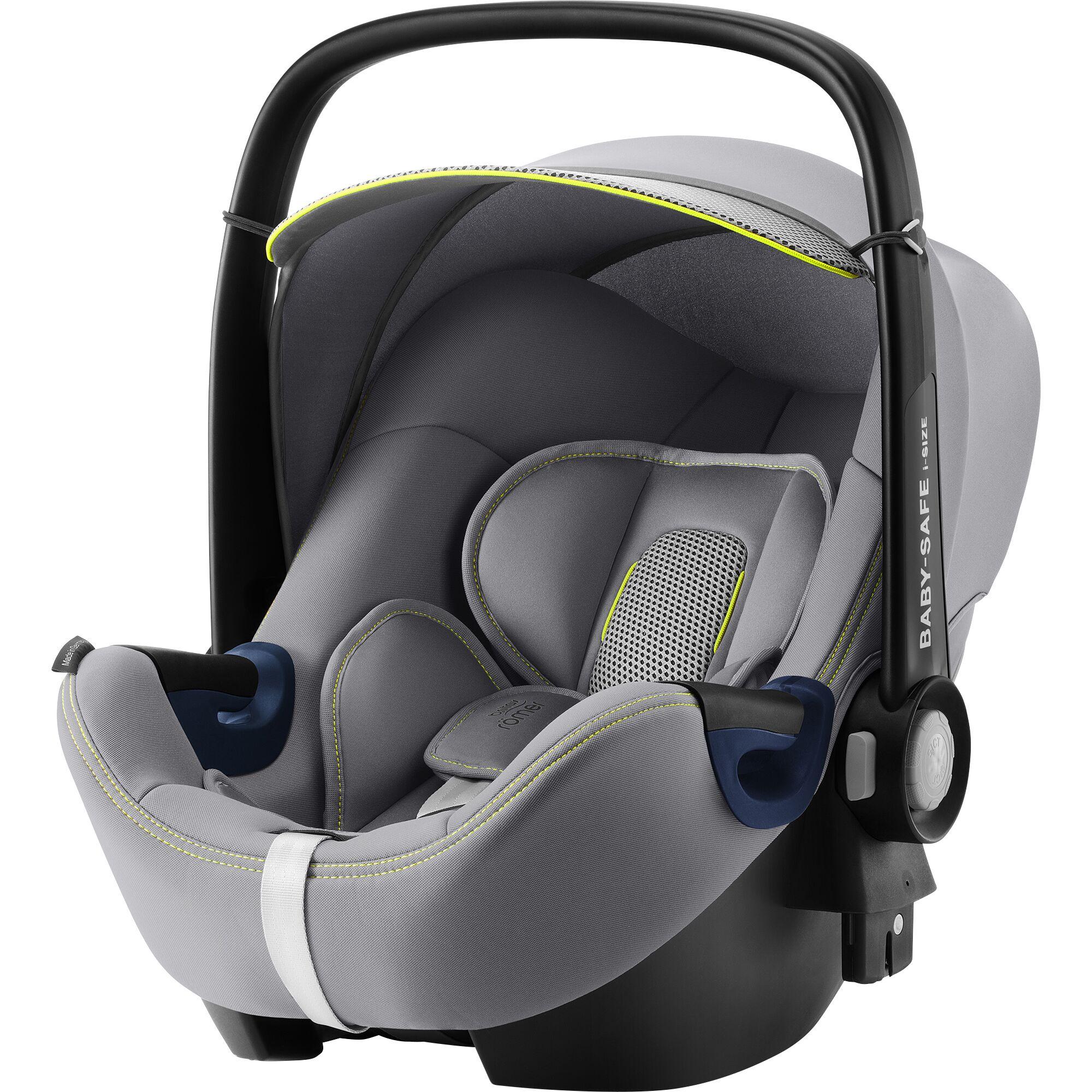BRITAX  Autosedačka Baby-Safe 2 i-Size, Cool Flow - Silver