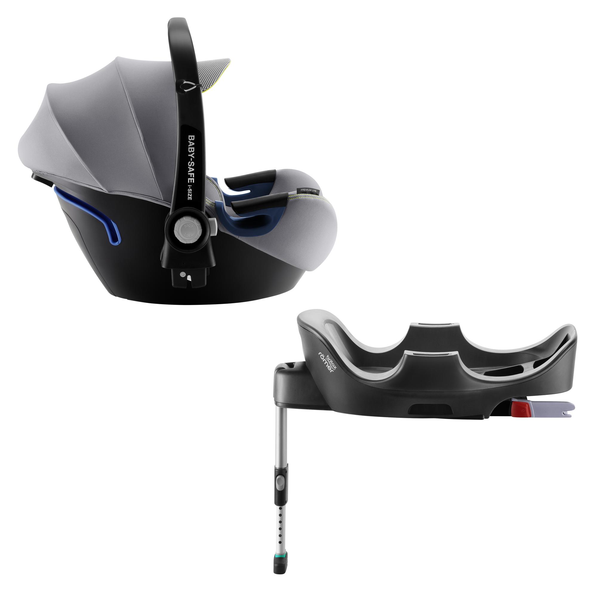 Autosedačka Baby-Safe 2 i-Size Bundle Flex, Cool Flow - Silver