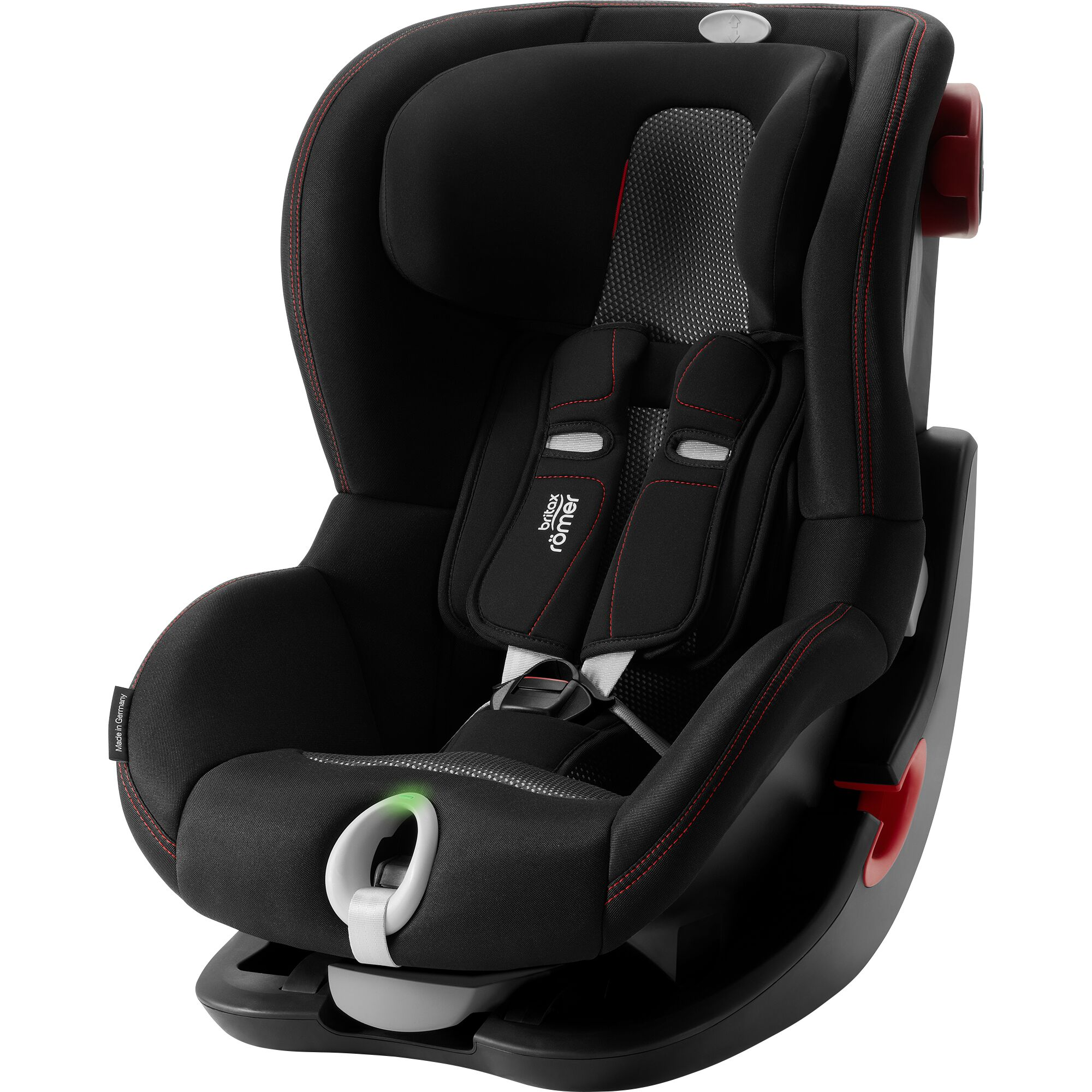 Autosedačka King II LS Black, Cool Flow - Black