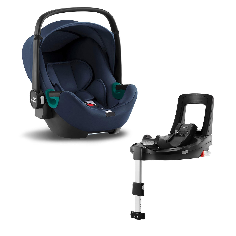 Autosedačka Baby-Safe 3 i-Size Bundle Flex iSense, Indigo Blue
