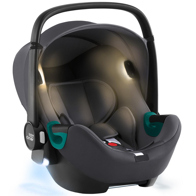 BRITAX Autosedačka Baby-Safe iSense, Midnight Grey