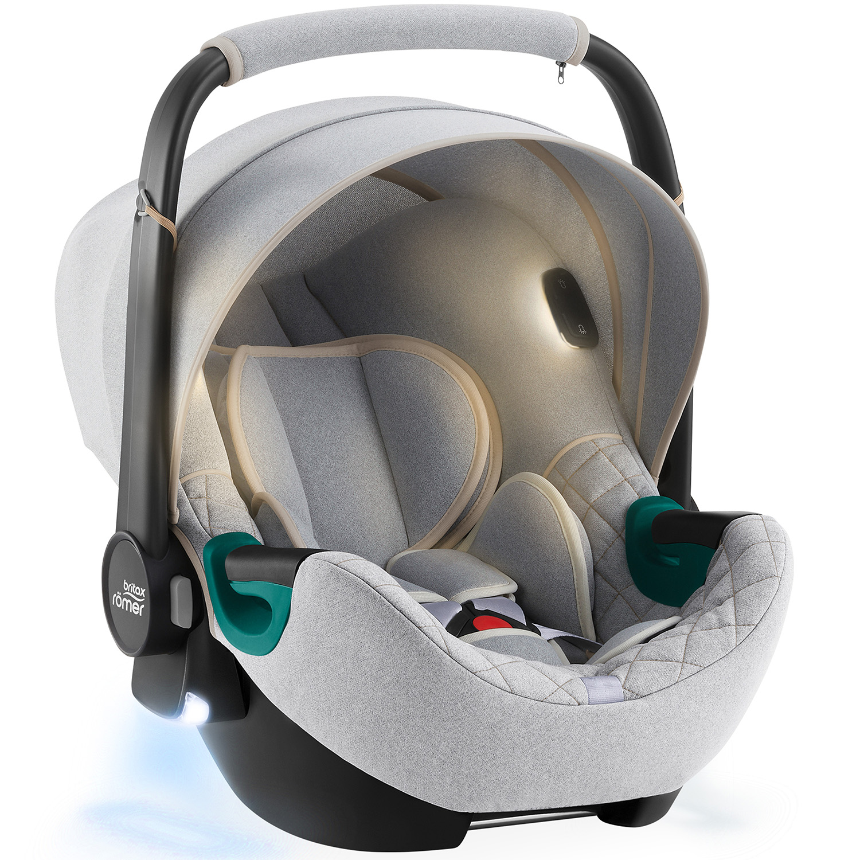 BRITAX Autosedačka Baby-Safe iSense, Nordic Grey