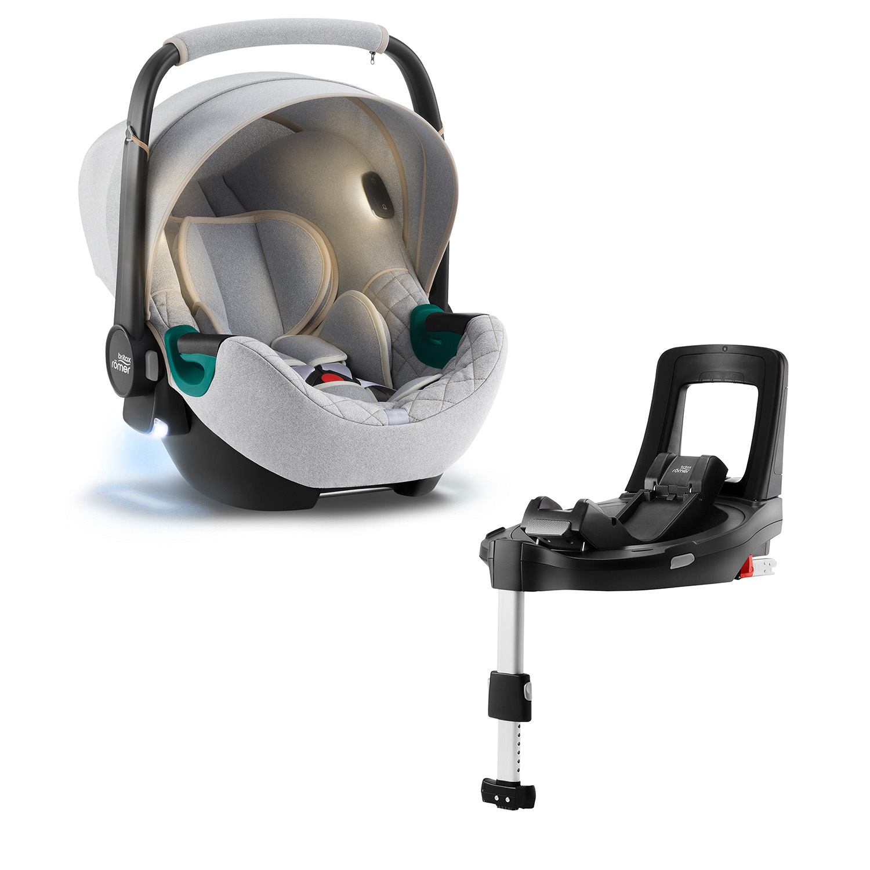 Autosedačka Baby-Safe iSense Bundle Flex iSense, Nordic Grey