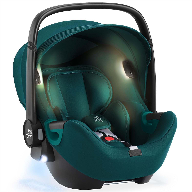 Autosedačka Baby-Safe iSense, Atlantic Green