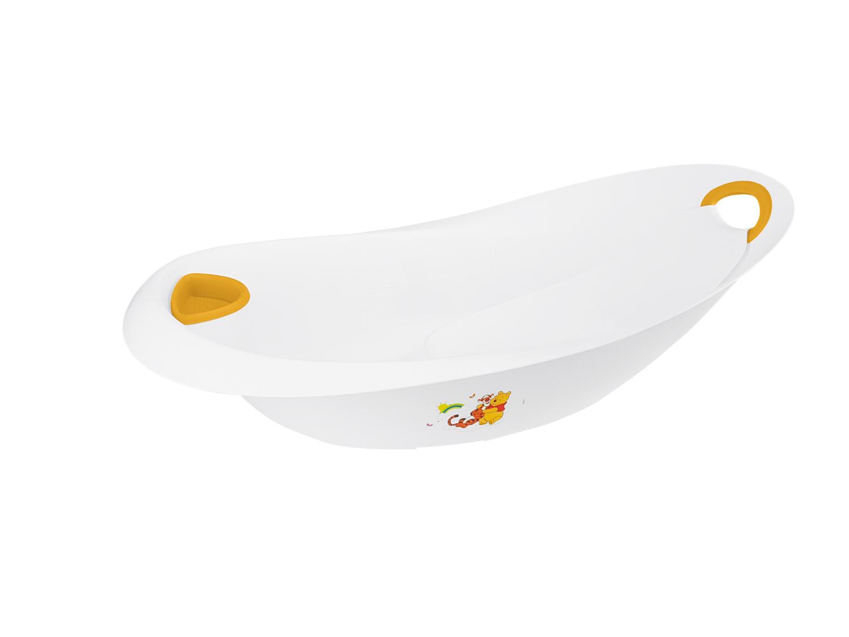 """Dětská vanička 87cm s integrovaným lehátkem """"Winnie"""", Bílá"""