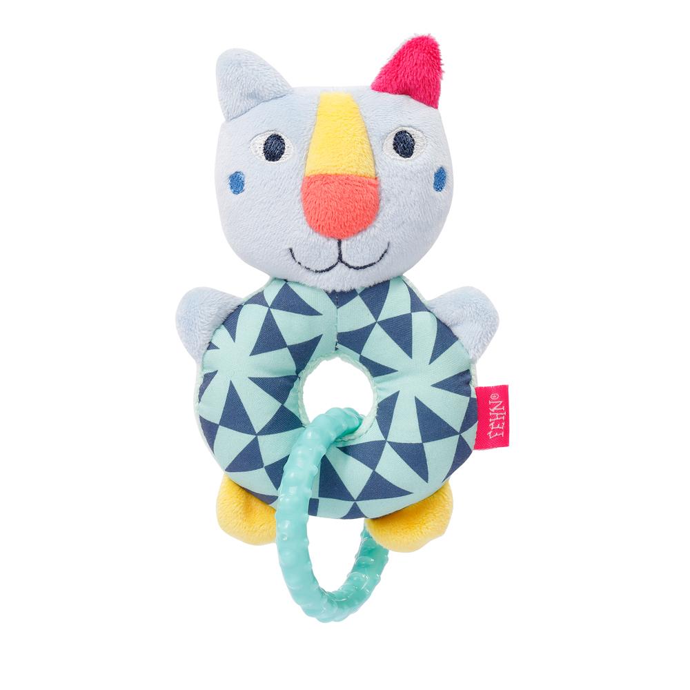 Plyšový kroužek kočička, Color friends