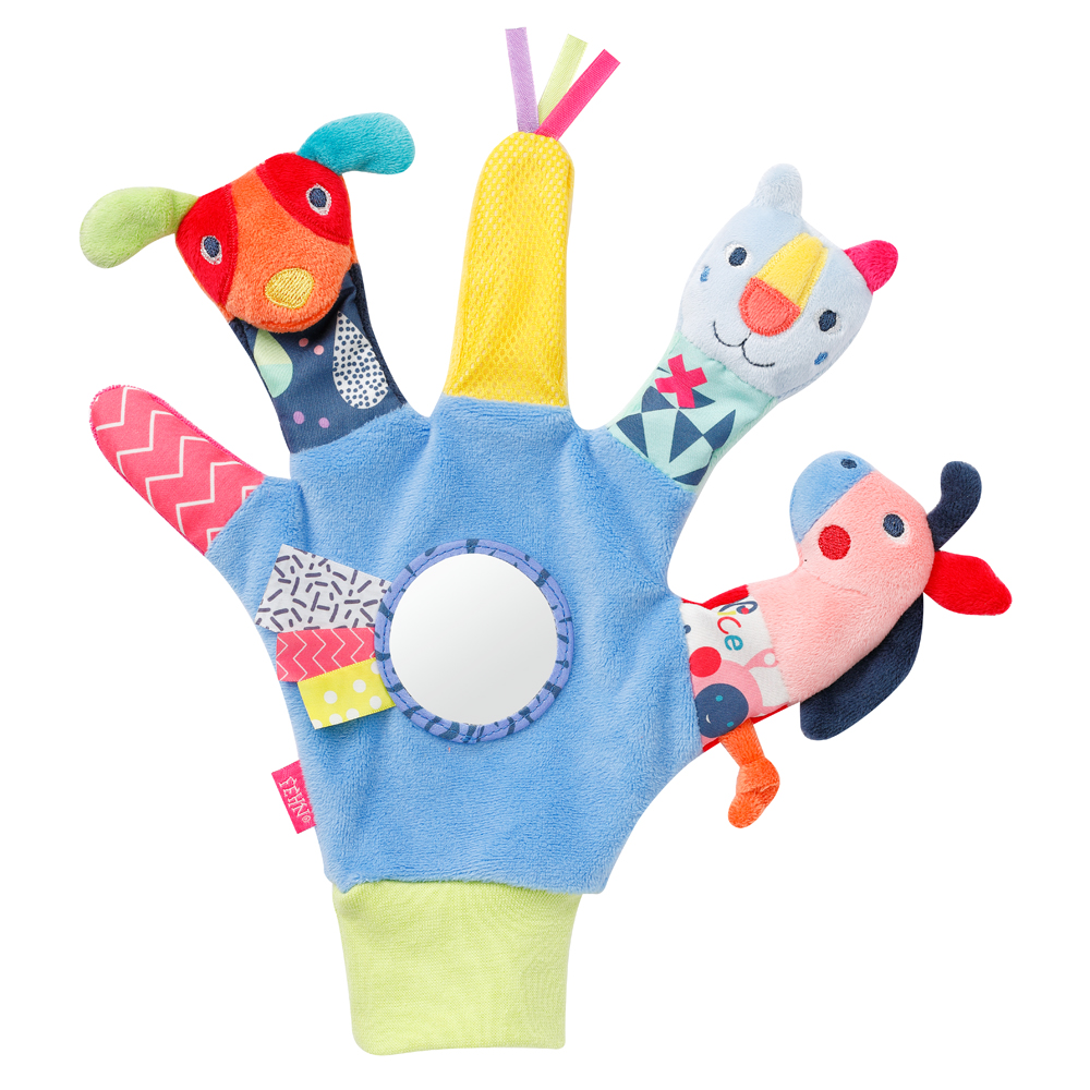 Rukavice na hraní s zrcátkem, Color friends