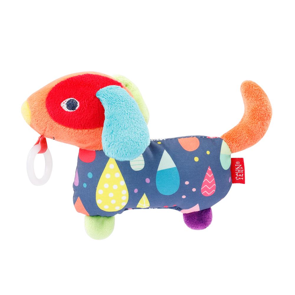 Plyšová hračka pejsek, Color friends