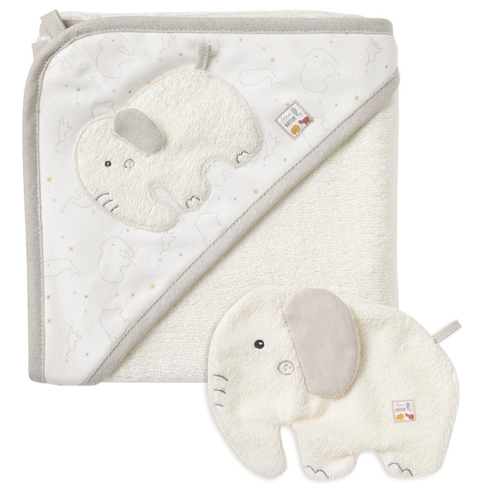 Ručník s kapucí slon, FehnNatur Slon