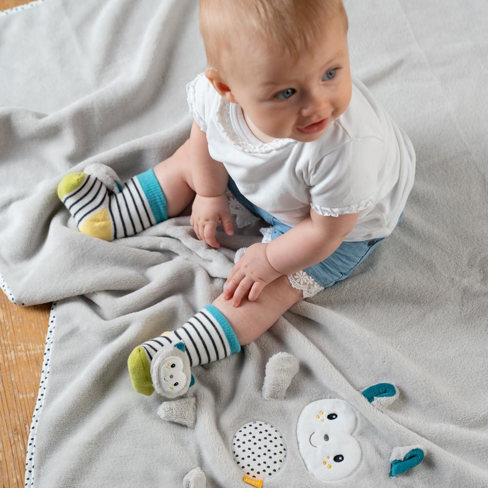 Chrastící ponožky kočička, Aiko & Yuki