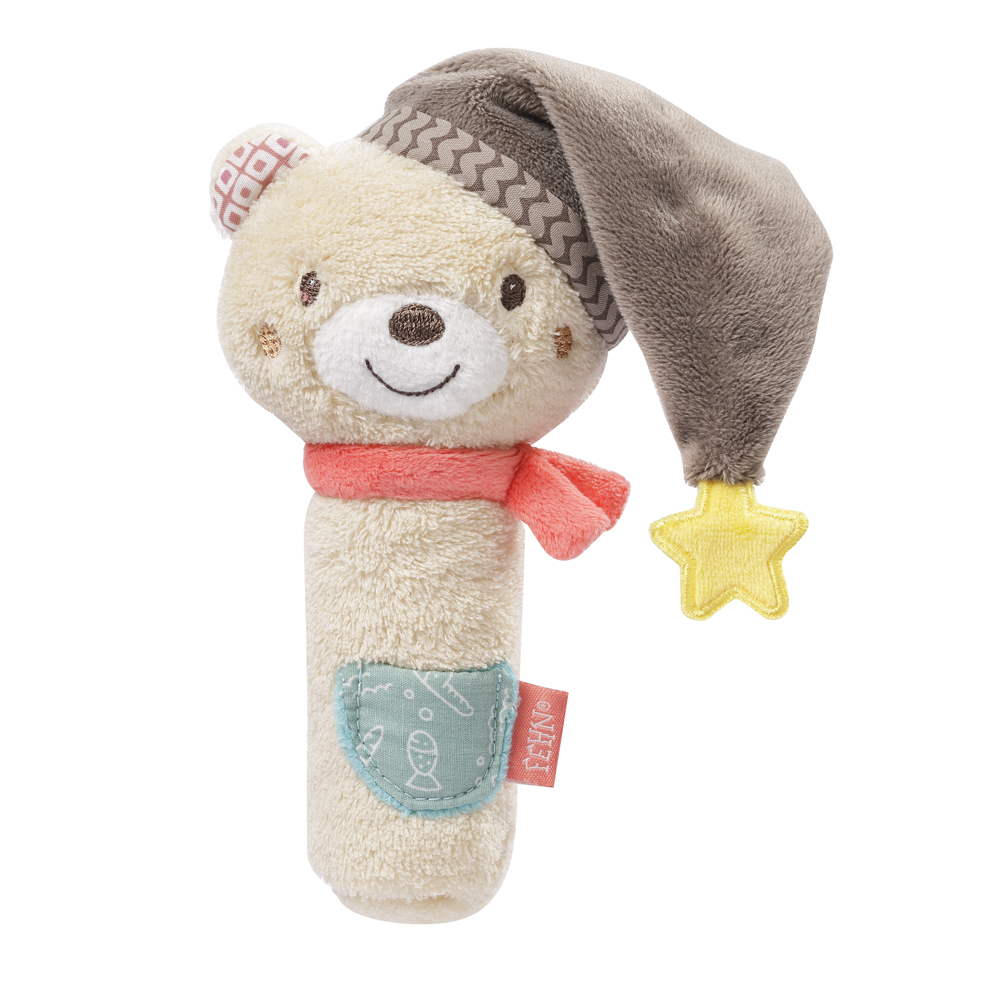 BABY FEHN  Pískací hračka do ruky, Bruno
