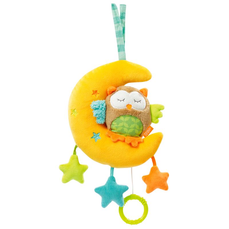 Hrací hračka sova+měsíček, Forest Sova+měsíček