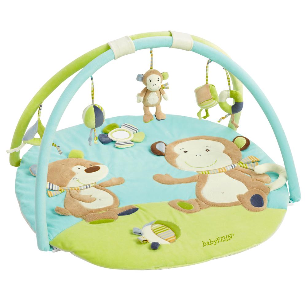 BABY FEHN  3D aktivity deka opička, Monkey Donkey Opička