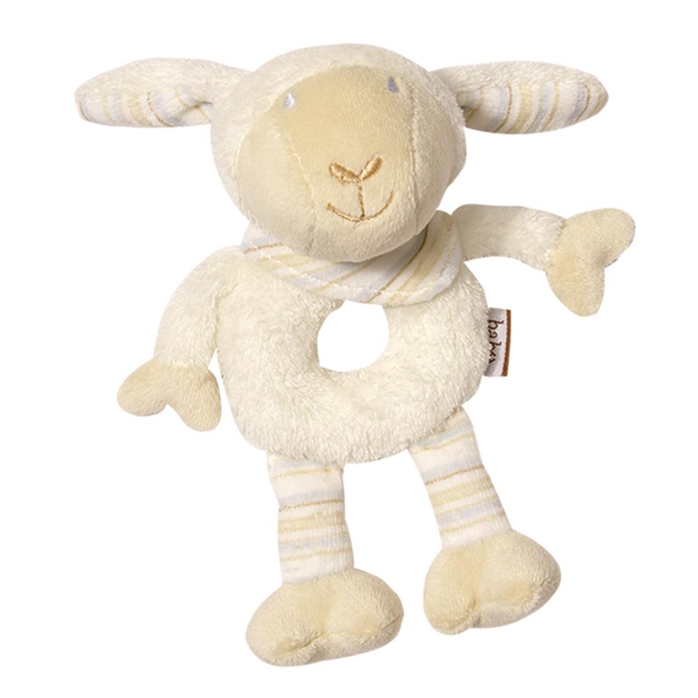 BABY FEHN  Měkký kroužek ovečka, Babylove Ovečka