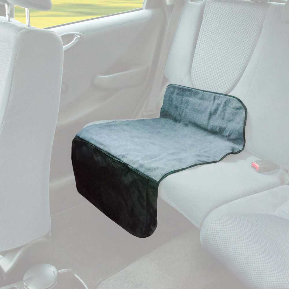 Fleecová podložka s kapsami na sedadlo, 30032