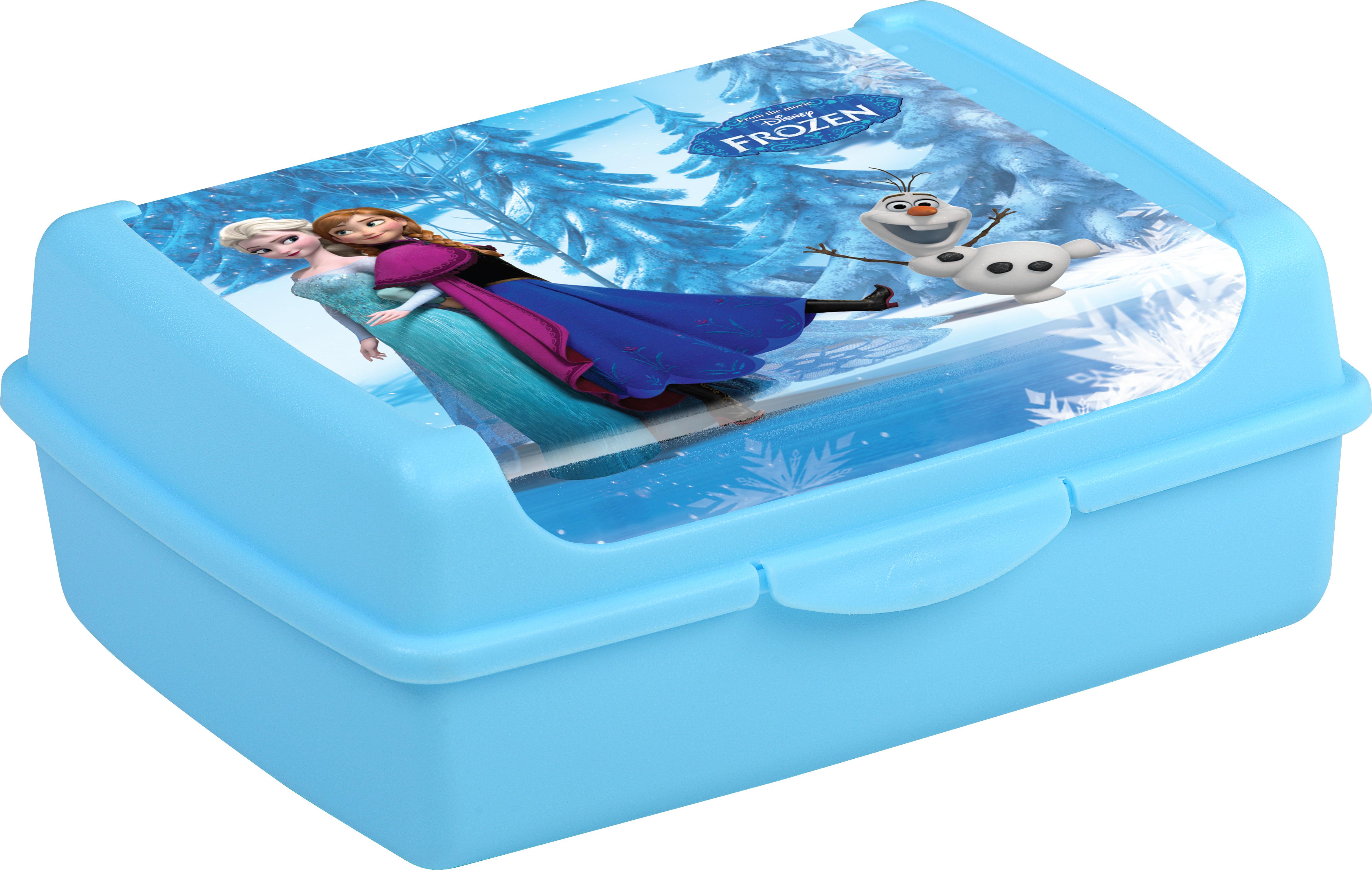 """Svačinový box """"Frozen"""", Modrá"""