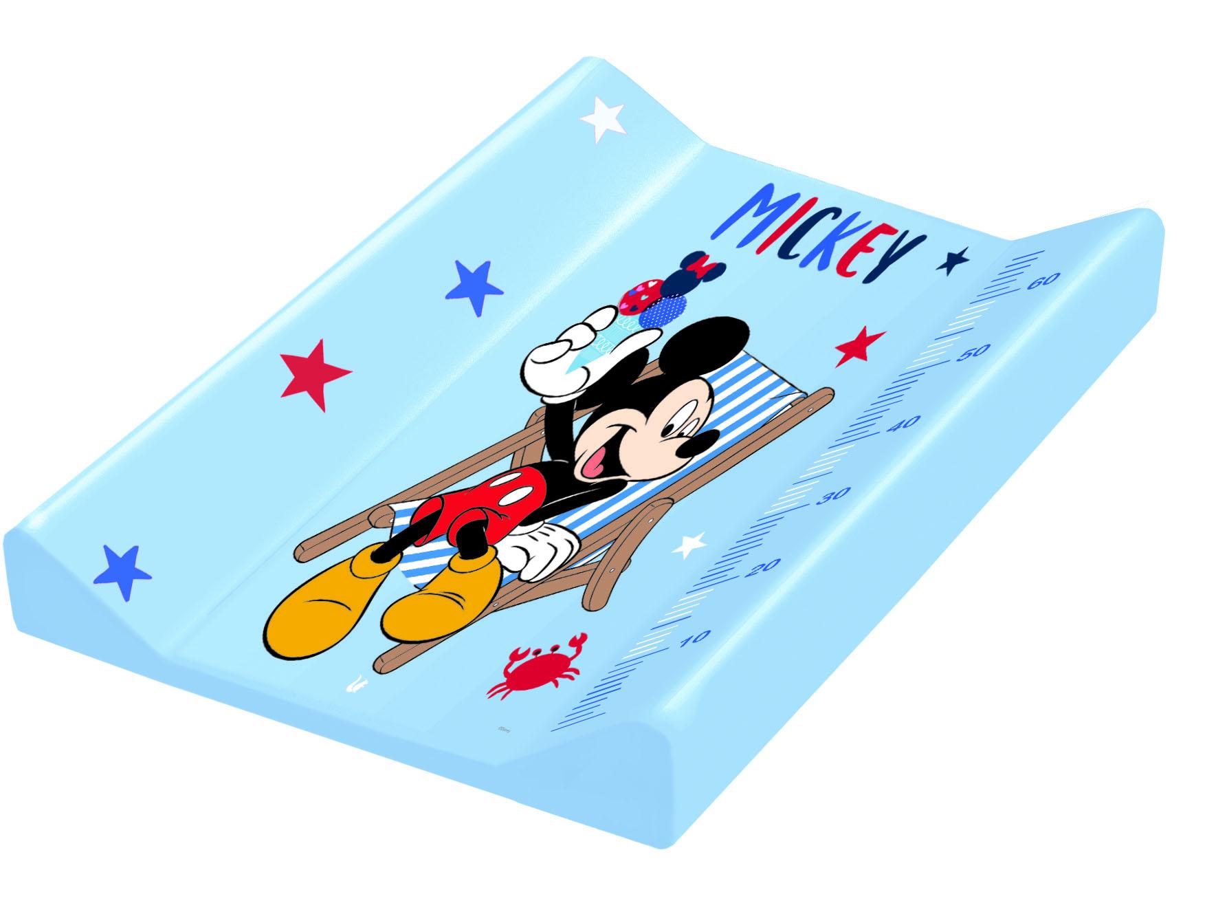 """KEEEPER  Přebalovací podložka """"Mickey"""", Modrá"""