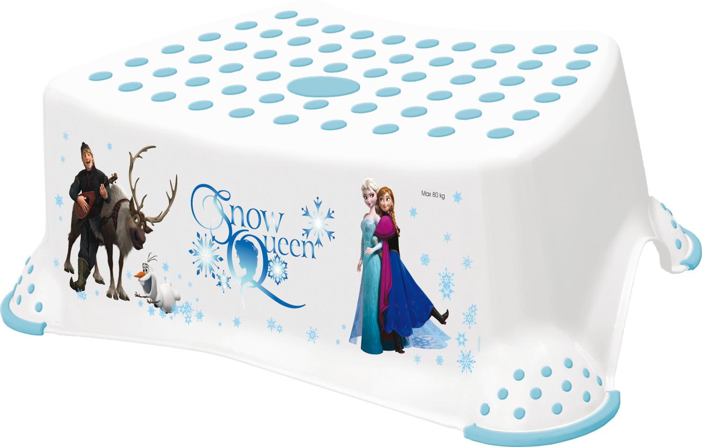 "Stupínek k WC/umyvadlu ""Frozen"", Bílá"