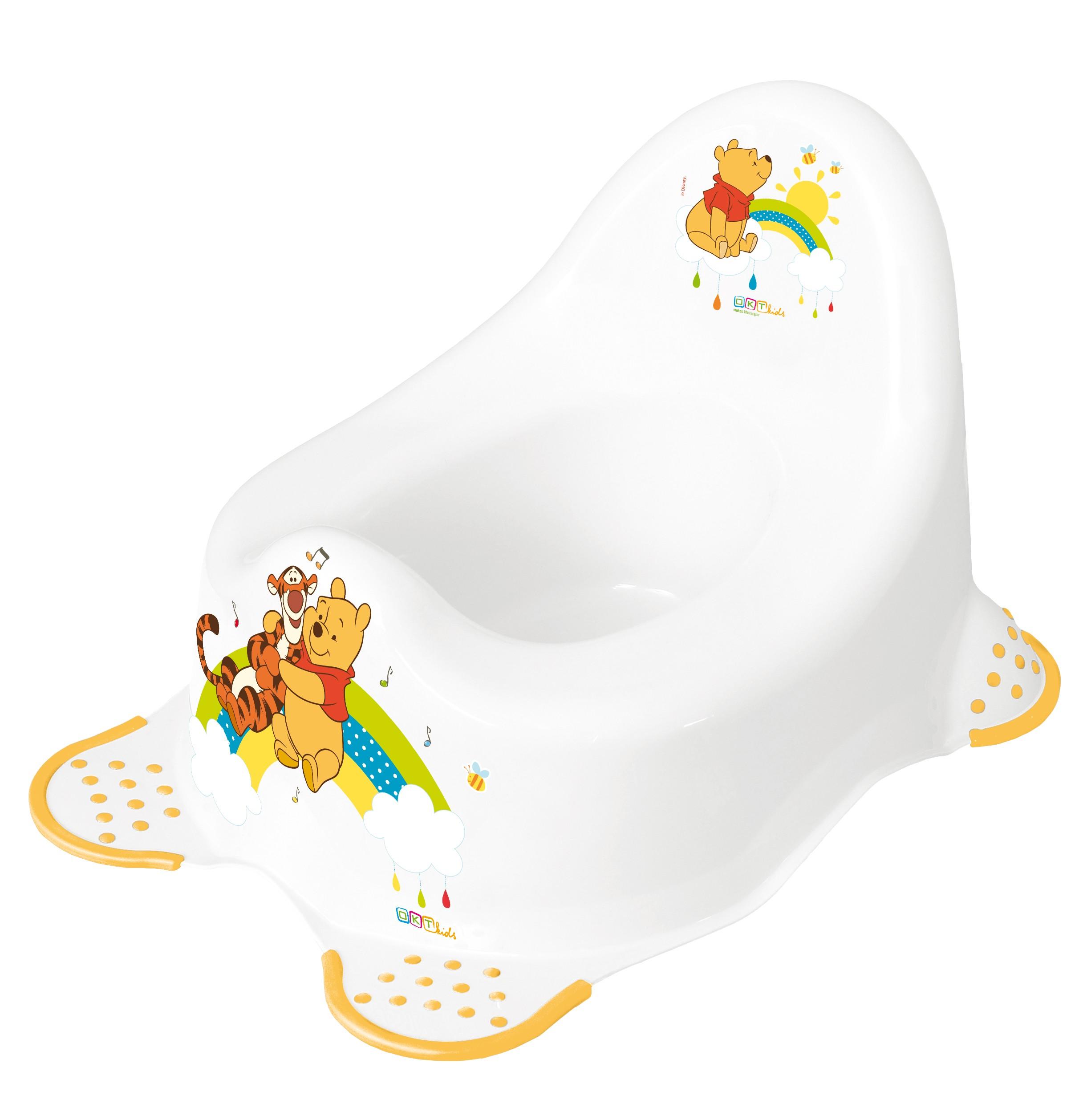 """Dětský nočník hrací """"Winnie Pooh"""", Bílá"""