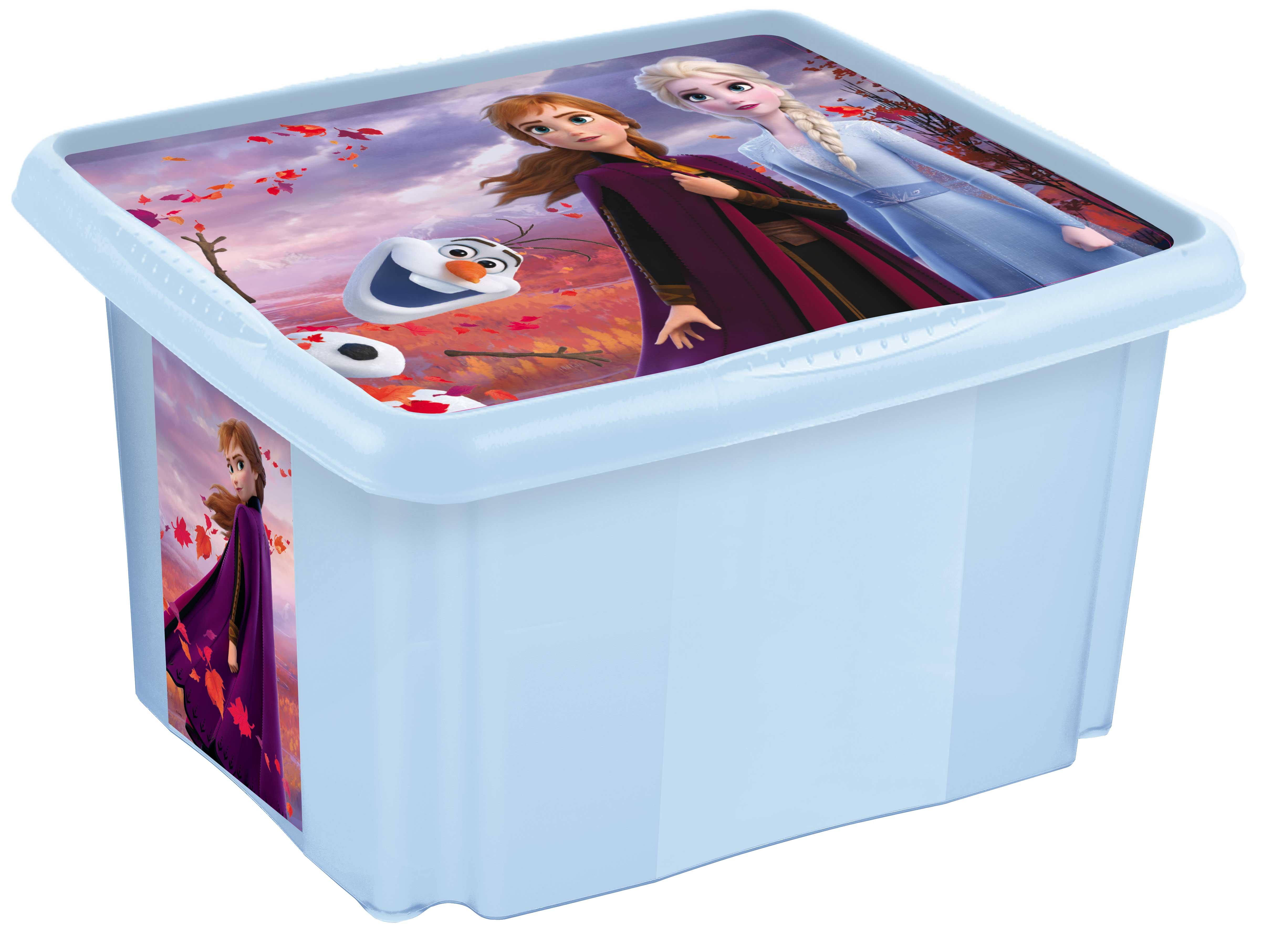"Úložný box s víkem ""Frozen"", Frozen II"