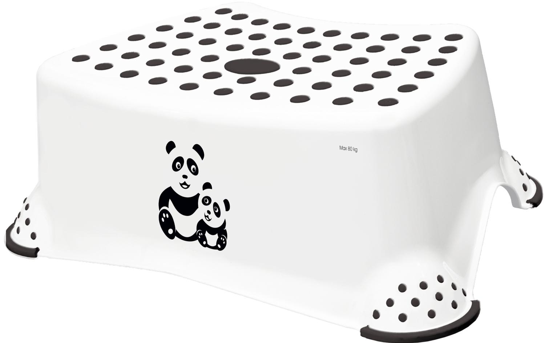 "Stupínek k WC/umyvadlu ""Panda"", Bílá"