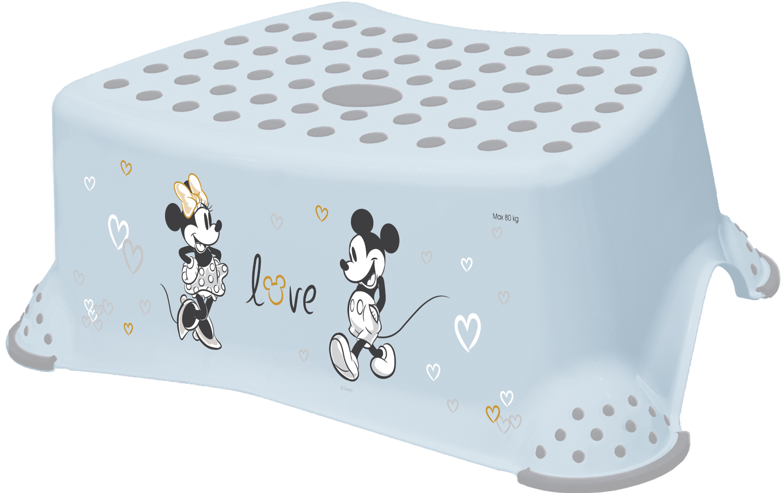 """Stupínek k WC/umyvadlu """"Mickey"""", Modrá"""