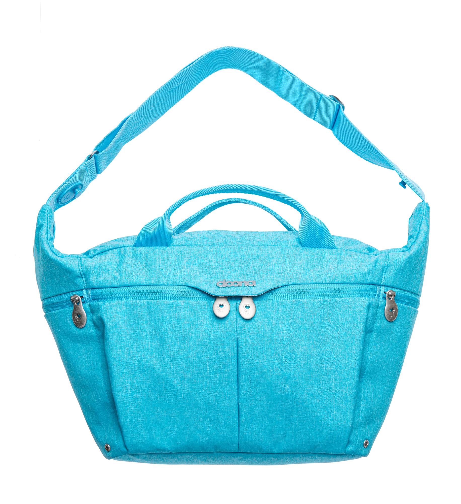 Celodenní přebalovací taška, Turquoise