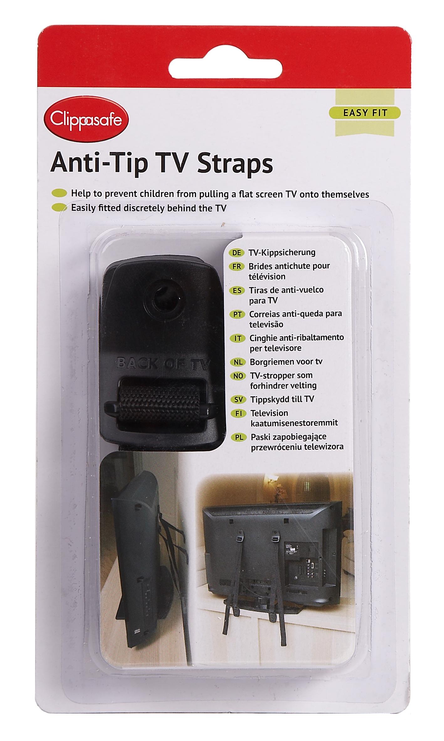 Popruhy proti prevrhnutiu televízie