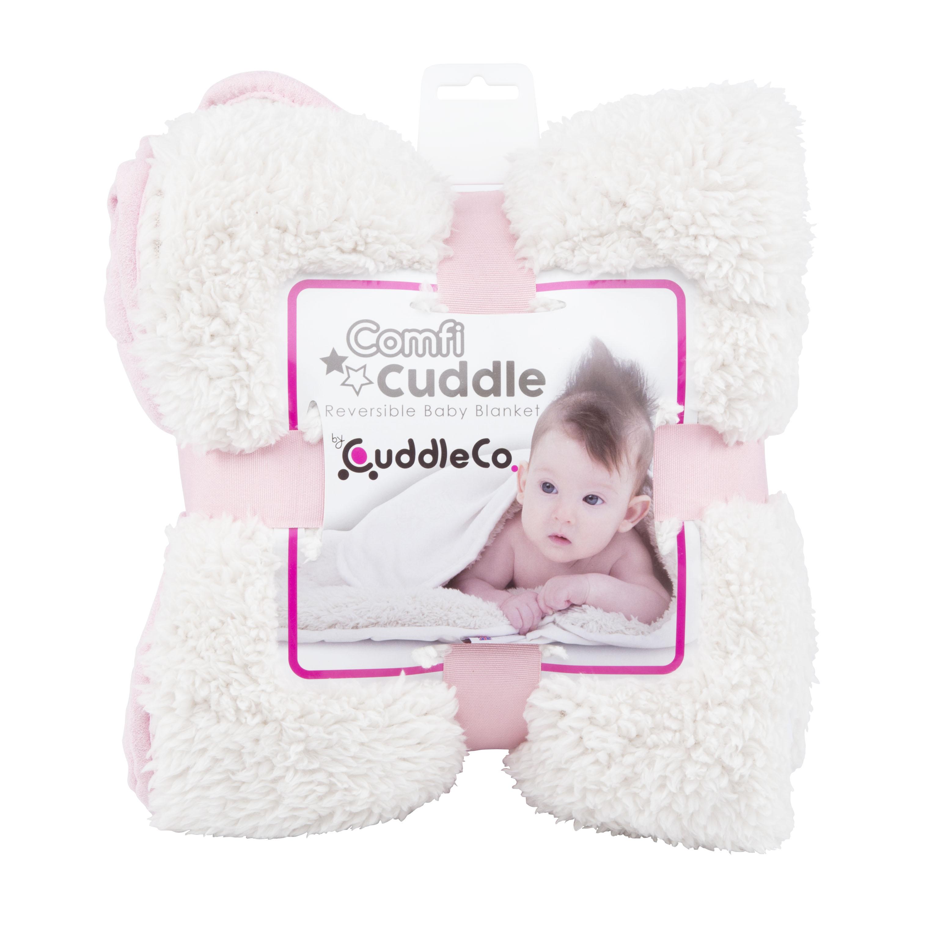 Dětská deka Comfi-Cuddle 110x75cm, Blush