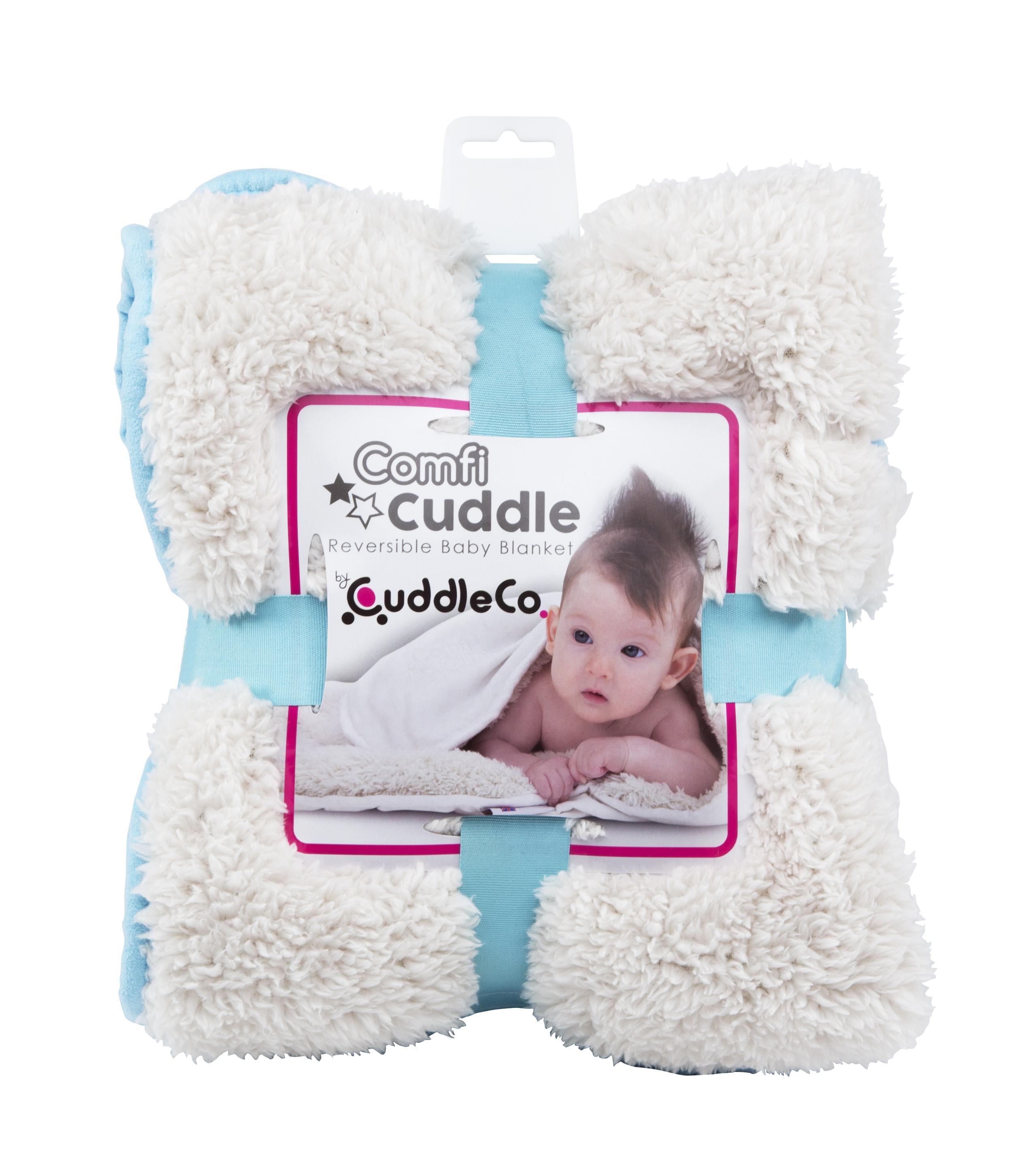 Dětská deka Comfi-Cuddle 110x75cm, Tiffany Blue