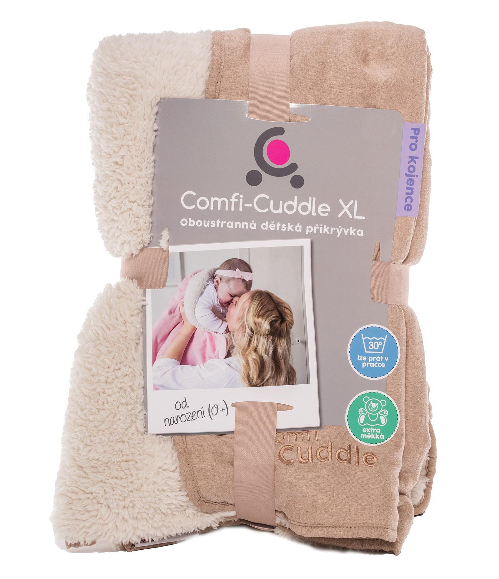 Cuddleco Dětská deka Comfi-Cuddle 140x100cm - Mink