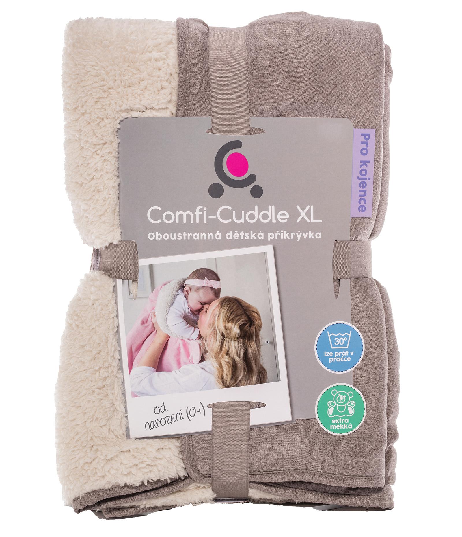 Cuddleco Dětská deka Comfi-Cuddle 140x100cm - Pebble