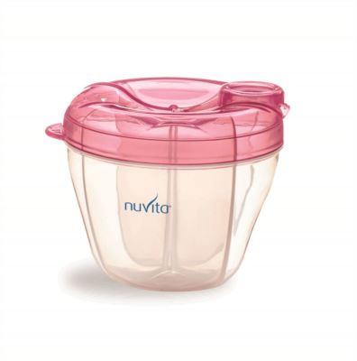 NUVITA  Nádoba a dávkovač na sušené mléko, Pink