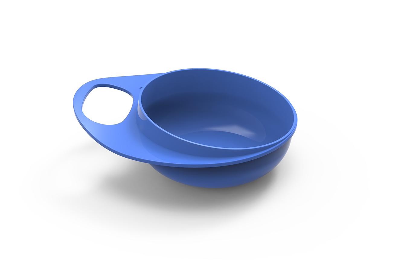 Talíř a miska, Blue