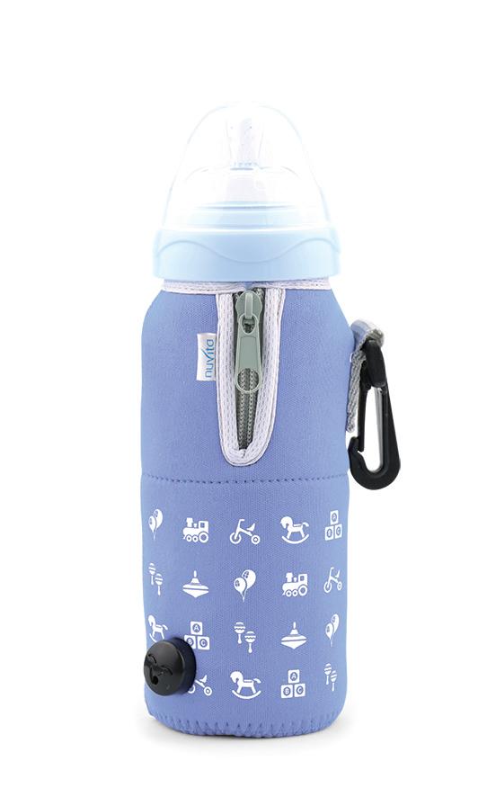 NUVITA  Cestovní ohřívač lahve se zipem, Blue