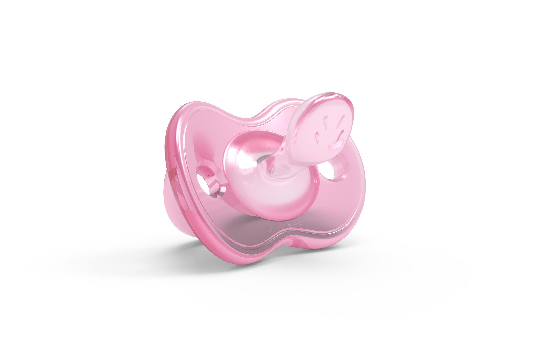 Silikonový dudlík, Pink