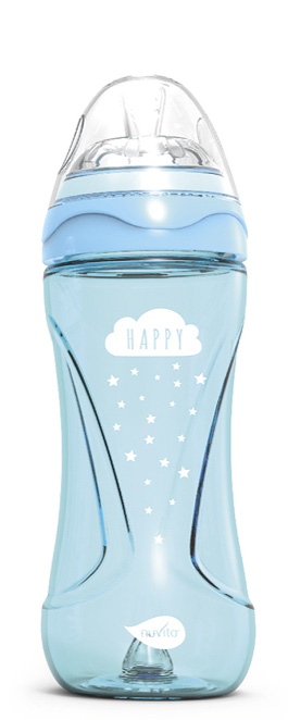 Lahvička Mimic Cool 330ml, Light blue