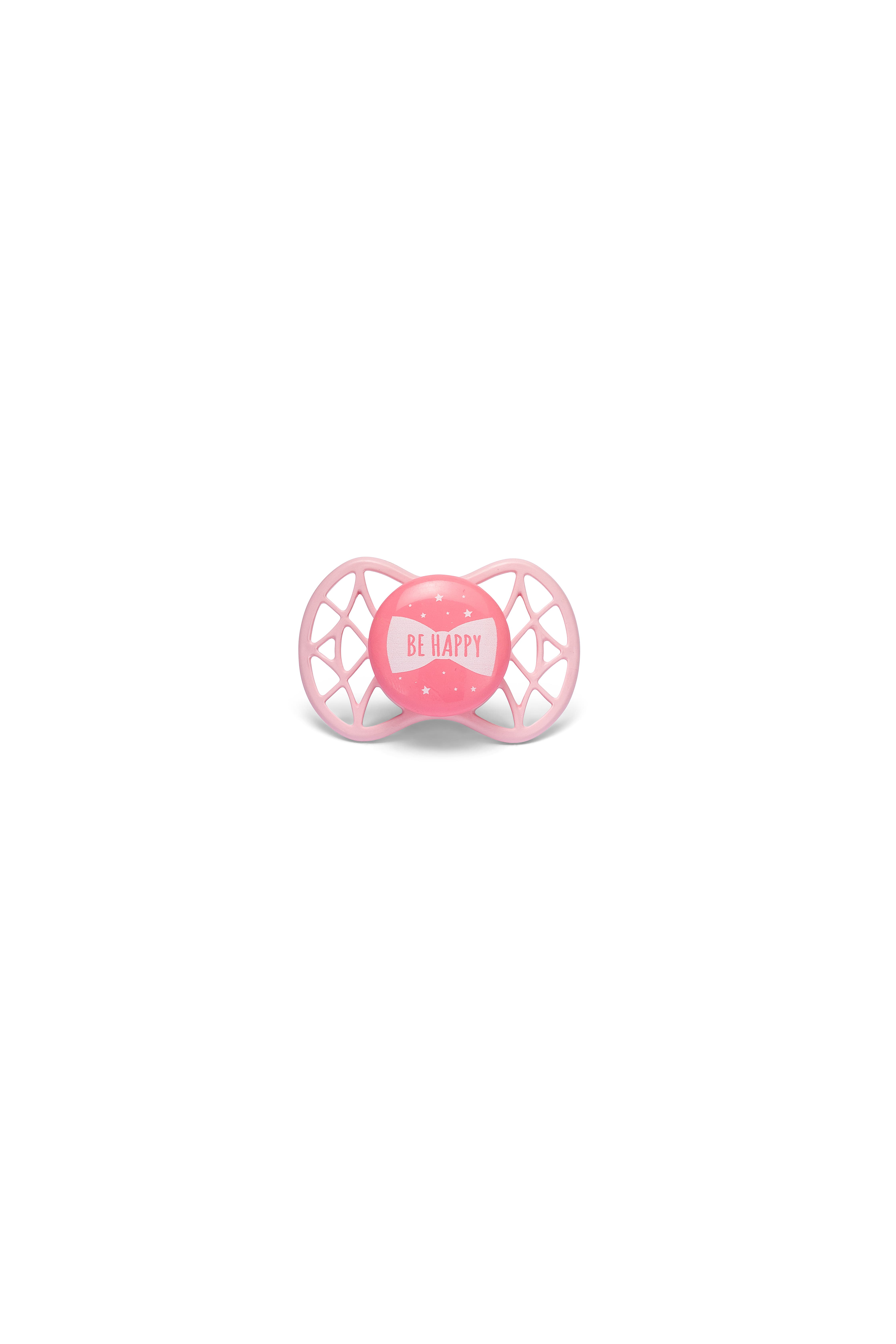 Ortodontický dudlík Cool 0m+, Rose quarz
