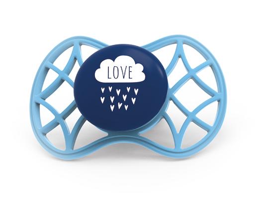 Fyziologický dudlík Cool 6m+, Cobalt blue