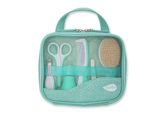 Kosmetická sada pro miminka, Pastel green