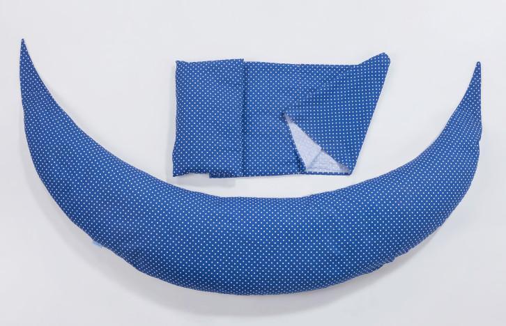 Dream Wizard multifunkční polštář, Blue/Dots