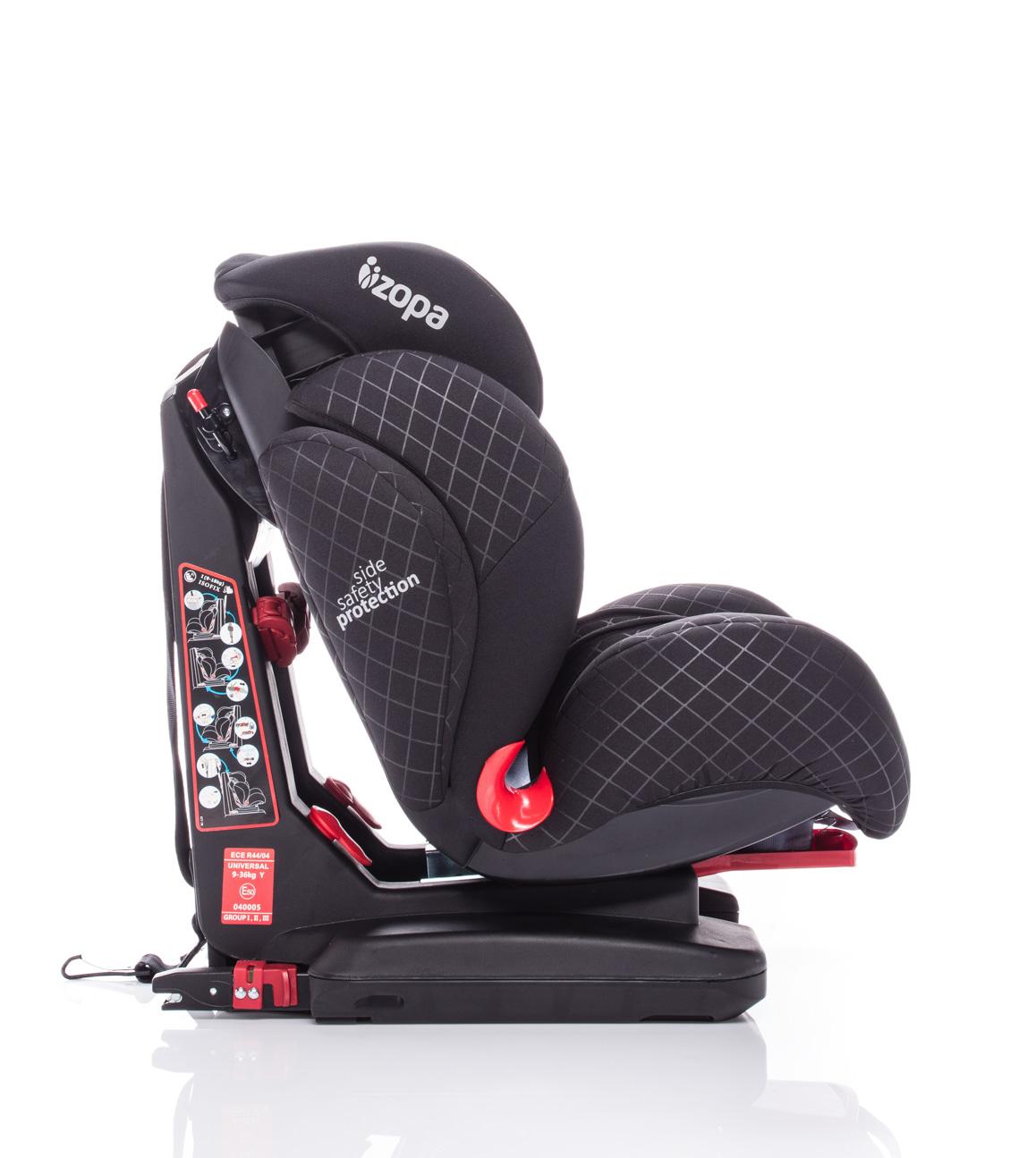 Autosedačka Carrera Fix, Fantom Black