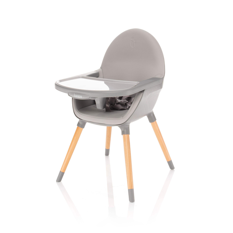 Dětská jídelní židlička Zopa Dolce - Dove Grey/Grey