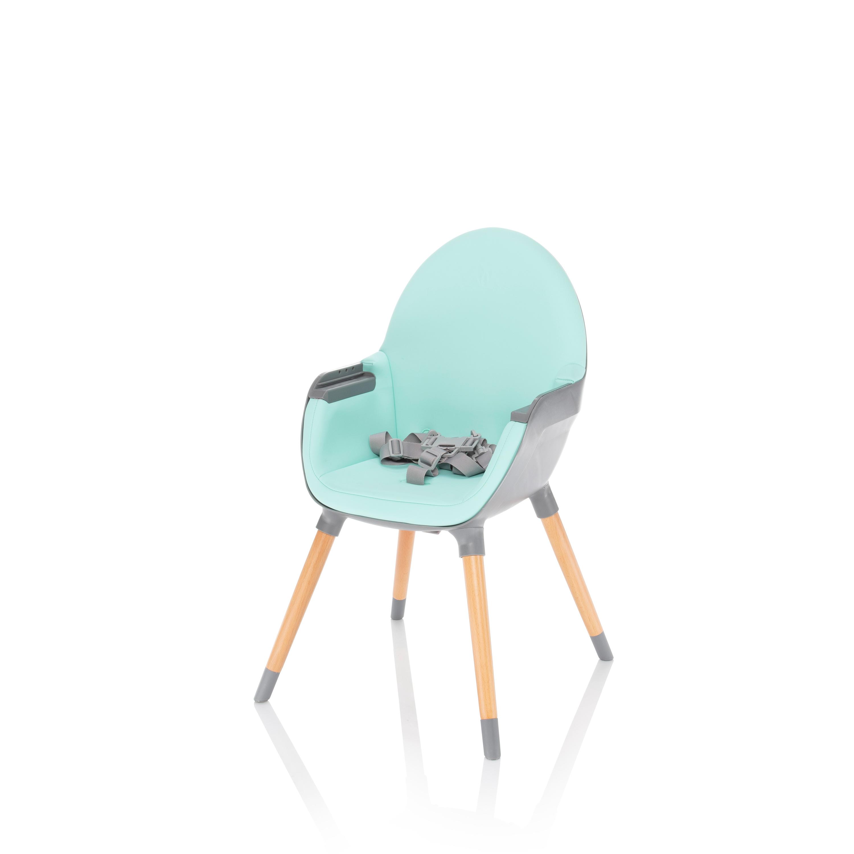 Dětská jídelní židlička Zopa Dolce - Ice Green/Grey